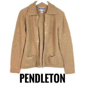 PENDLETON Bouclé Cardigan With Pockets S